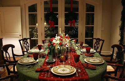 christmas dinner - Christmas Dinner Party